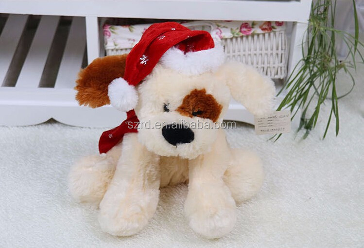 Electric singing plush toys/modern plush toys/plush soft puppy animal dolls