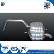 Manufacturers stainless high quality titanium muffler