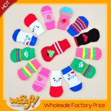 Hot selling pet dog products high quality xiboer pet socks