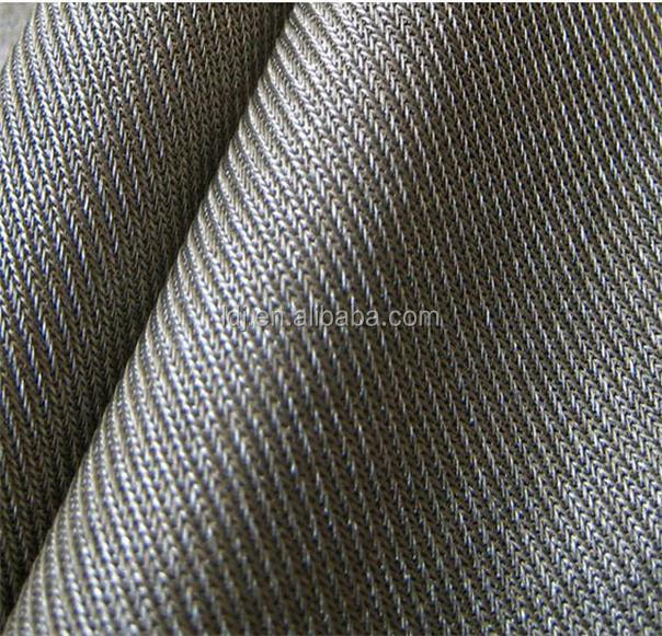 silver fiber knitted antibacterial anti radiation fabric