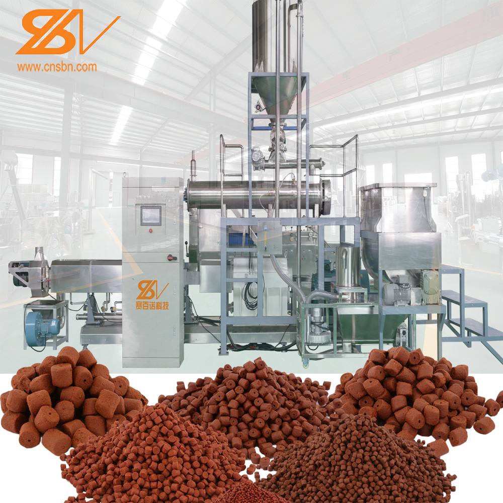 Saibainuo automatic floating fish food production line
