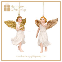 Wholesale Christmas Angel with Music Instrument