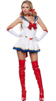YIWU Caddy SDFS-191 halloween Sexy cosplay Sailor Moon costume sexy school girl sets image
