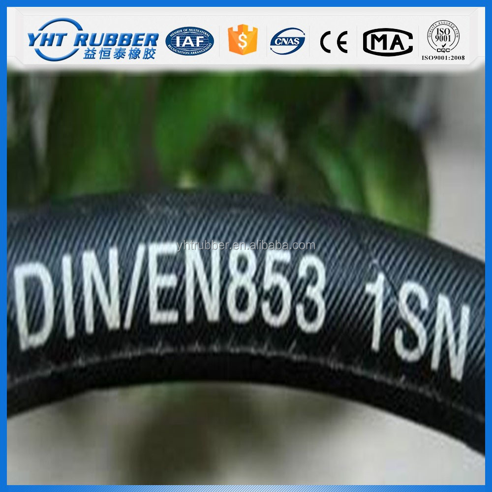 2016 New Arrival transparent fuel rubber hose pipe for oil
