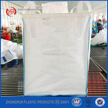 Plastic cargo bag 1.5 ton jumbo bags for barite powder , Zhongrun Plastic big bags