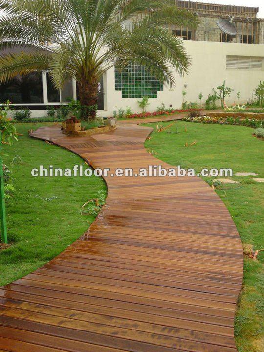 Madera de jard n decking suelos de madera identificaci n - Suelo de madera para jardin ...