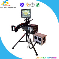 Laser shooting game machine in coin operated games cheap price hot sale