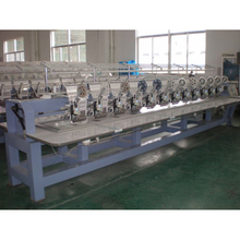 12 head flat embroidery machine
