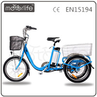 MOTORLIFE/OEM electric new coffee tricycle standing for cargo bike