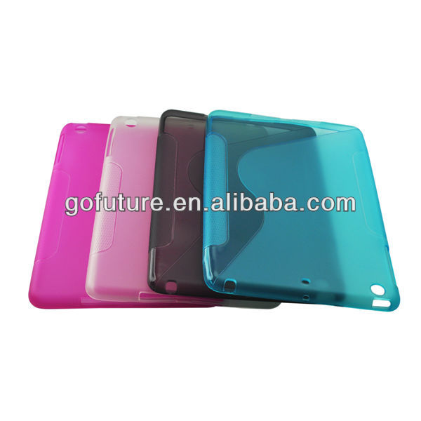 Factory supply , custom for ipad case,transparent tablet cover