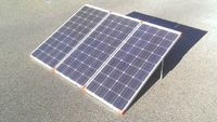 Factory Price Portable Compact 290w solar panel