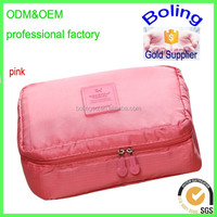hot selling travel toiletry bag cosmetic makeup bag with custom logo
