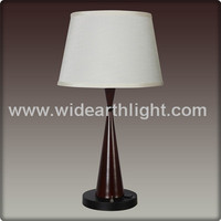 UL CUL Listed Coffee Color And Black Bedroom Outlet Hotel Table Lamp With Push Base Switch T20248