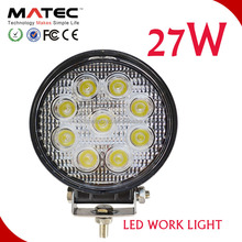 ledFactory direct sales 27w work light, led worklight 27w for fog driving , 27w led work lamp square