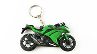 PVC motorcycle shaped key chain/key ring for promotion gift