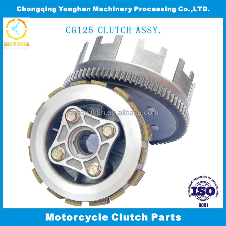 Clutch for Motorcycle with HND GL100, 125cc Engine Chinese Motorcycle Aftermarket Spare Parts