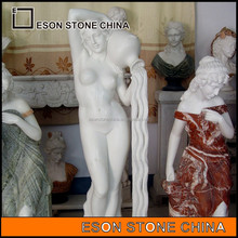 Eson Stone western figure statue,woman sculpture,white marble sculptures