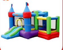2014 new design best seller customized used commercial bounce houses for sale