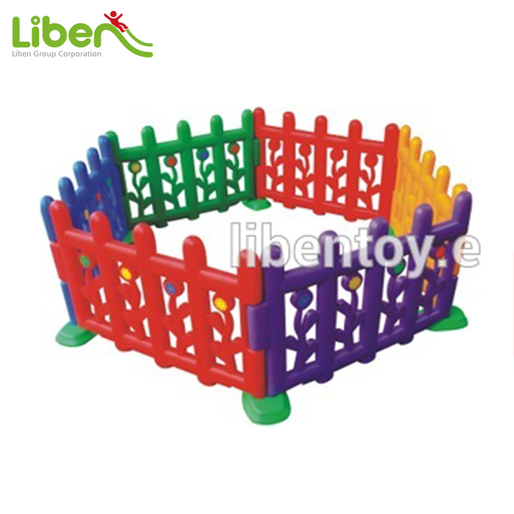 plastic kids pvc fencing/cheap garden children used fence for sale LE.WL.004
