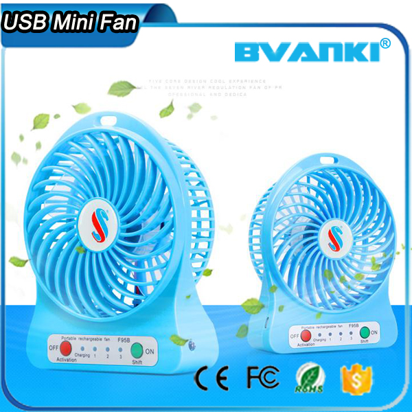 Portable Electric LED Rechargeable Desktop Fan,Cooling Air Conditioner Portable Fan Has A Battery,Ceiling Fan