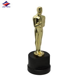 Popular Cheap Attractive Oscar Gold Trophy Elegant Design Grammy Awards Trophies