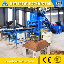 BM4-10 automatic clay brick making machine, hydraulic paver brick machine price
