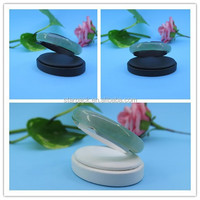 Hot Sell Elegant Leather Bangle Display Stand with Oval Base S763