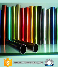 colored aluminum tubing