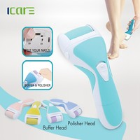 3 in 1 callus remover With nail polisher funtion