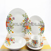 five porcelain dinnerware set with your own, print own design dinnerware, germany fine porcelain dinnerware set