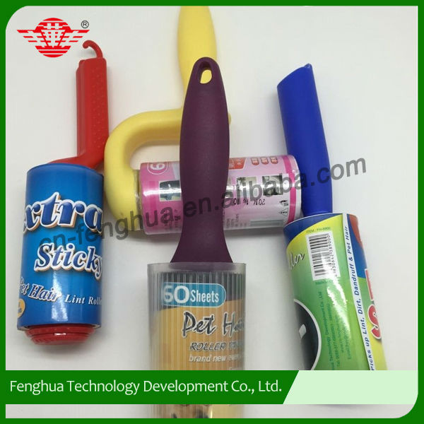 New design colorful pet hair sticky lint roller
