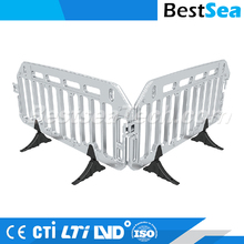 Road safety barrier outdoor, durable pedestrian barrier fence
