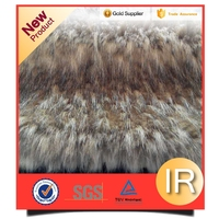 Good after-sales service pattern fur coats faux fur