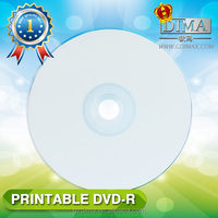 China mainland manufacturer blank full printable dvd4.7GB,8X/16X