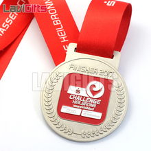 China Guangzhou Wholesale Custom Sport World Championship Antique Metal Medal With Epoxy