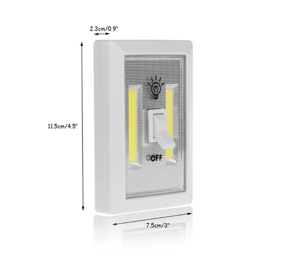 Wholesale Cordless Light Switch, Battery Power Switch Light, Wall Switch with LED Indicator for Home use Under Closet