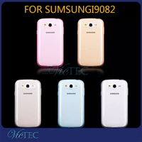 High clear rubber tpu gel case for samsung galaxy grand duos gt-i9082