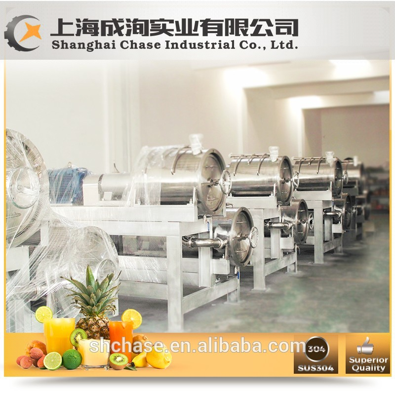 Stainless steel commercial industrial spiral juicer extractor machine
