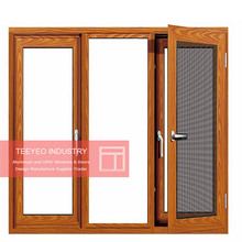 Teeyeo 2017 Big Deisgn Aluminum Windows and Doors Double Glass Aluminum Casement Window and Door