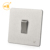 1 gang single way electric black wall light switch