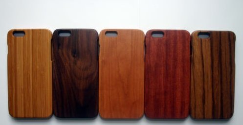 High quality luxury natural carved real wood cell phone case For iPhone 6 6s