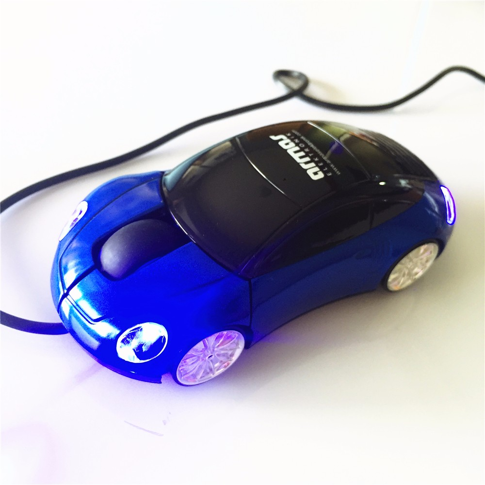 3D Optical Promotional Cool Wired Racing Car Mouse