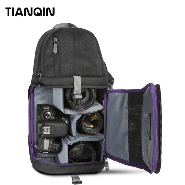 New Arrival Multifunction Hot Selling Camera Sling Bag for Cameras Storage