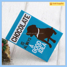 Custom Souvenir metal tin fridge magnet