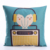 Qetesh New Design Throw Pillow Case Decorative Canvas Pillow Cover