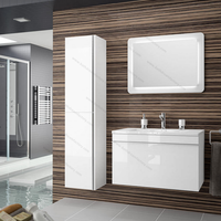 Italy Makeup Sets Melamine Board Bathroom Design Vanity