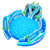 Blow Up Inflatable Water Theme Amusement Park and Pool Slide Obstacle Playground Equipment Land Waterpark Slide With Pool