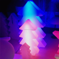 led PE christmas trees outdoor,white outdoor lighted christmas trees,outdoor led christmas tree