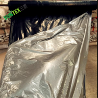 Supply 20micron poly mulch film agriculture plastic mulch film White Silver black Plastic Mulching Film