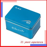 magnetic practical plain rectangular metal soap tin box wholesale made in China